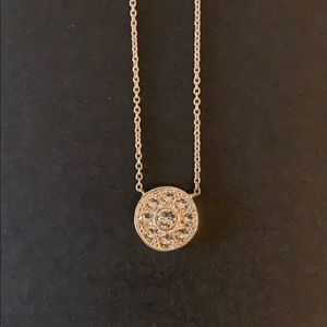 Silpada CZ Sterling Silver Necklace NEW